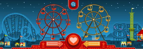 Google'dan 14 Şubat özel logosu