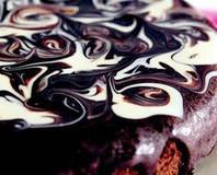 Ebruli Çikolata Pasta