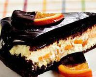 Portakal Şekerlemeli Çikolatalı Cheesecake