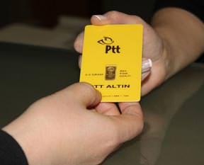 PTT gram altın satışına başladı