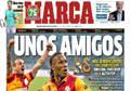 Marca'nın manşeti: Birkaç arkadaş