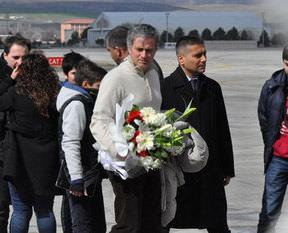 Mourinho Kayseri'de