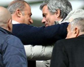 Mourinho Galatasaray'a hayran kaldı
