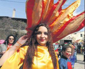 Karnavala Türk akını