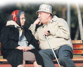 Evlenemeden yaşlandılar
