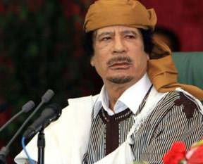 Kaddafiler firarda