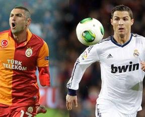 UEFA'dan Burak-Ronaldo karşılaştırması