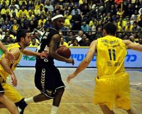 Beşiktaş, Maccabi'den tarihi fark yedi: 58-101