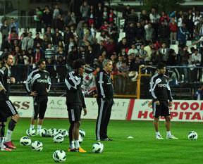 Sanki Süper Lig maçında