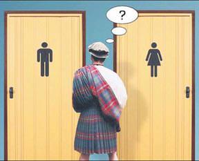Aklımız tuvalette gelir