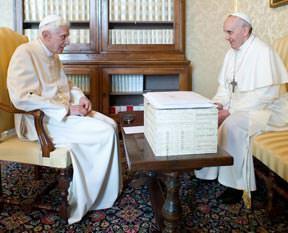 Papa'zı buldu!