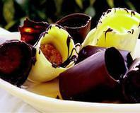 Bisküvili Çikolata Ruloları