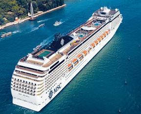 Cruise gemisiyle Norveç Fiyordları