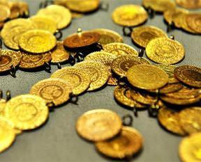 Altın yeniden düşüşte
