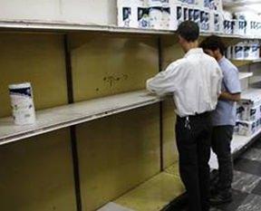 Venezuelada tuvalet kağıdı bitti