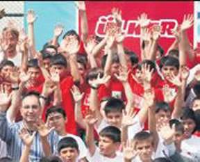 Ülker'den U-20'lere büyük destek