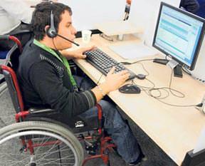 Engelli çalıştıran yaşadı