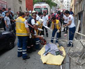 İstanbul'da patlama: 1 ölü