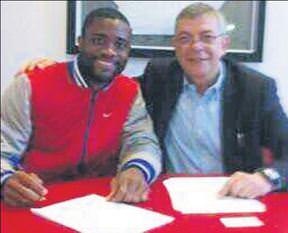 Chedjou imzaladı