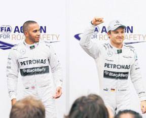 Monaco'da pole pozisyonu Nico Rosberg'in