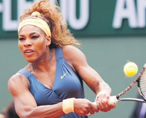 Serena kendini sıkmadı