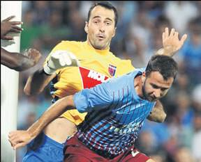 Trabzonspor'da oynamak zevk