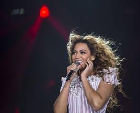 Beyonce panikte