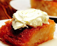 Ganaj Kremalı Ekmek Tatlısı