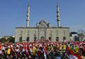 Eminönü'nde Mısır eylemi