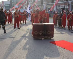 Mehter takımından Erdoğan marşı