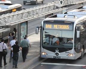 Metrobüsü kullanacaklar dikkat