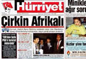 Hürriyet'in o manşetine Twitter'da tepki yağdı