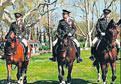 Topkapı Sarayı'nda Atlı Jandarma