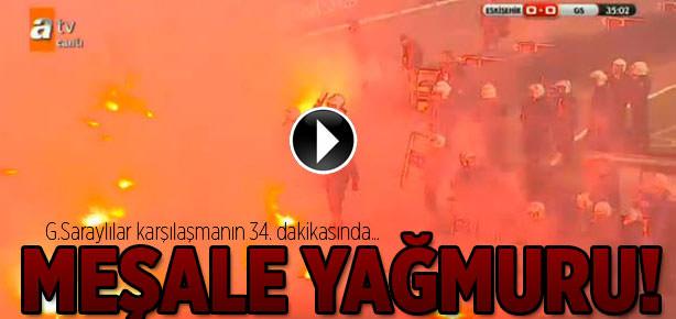 Konya'da sahaya meşale yağdı!