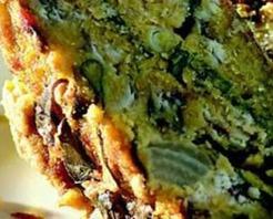 Hamsili Sebzeli Mısır Ekmeği Tarifi