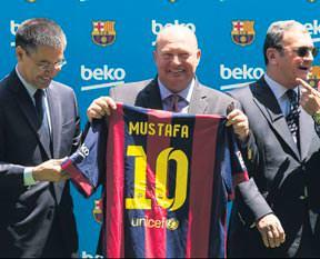Beko, Barcelona'nın sponsoru oldu