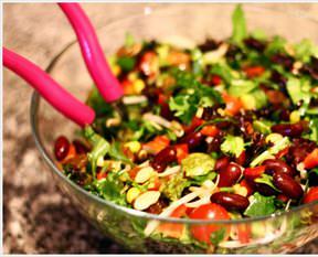 Mısırlı Meksika Fasülyeli Salata Tarifi