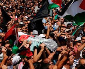 Katil İsrail Hudayr'ı diri diri yaktı