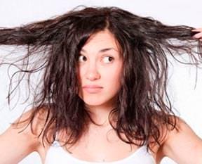 Yıpranmış saçlar için doğal çözüm