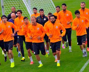 Galatasaray'ın Avusturya kampı başladı