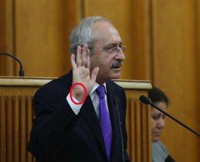 Kılıçdaroğlu elini yaraladı