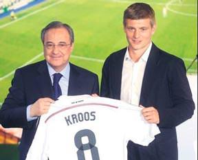 Real Madrid'de Kroos rüzgarı