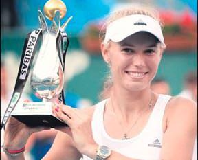 TEB BNP Paribas'ın şampiyonu Wozniacki