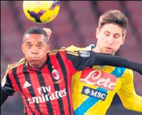 Sambacı Robinho Milan'dan ayrıldı