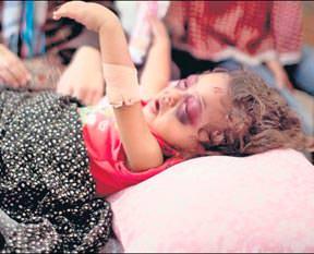 Saat başı bir çocuk ölüyor
