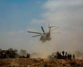 Hamas İsrail uçağını düşürdü