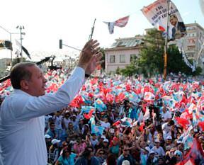 'Oyumuz Erdoğan'a'