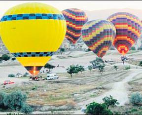 Baloncular bayram yapıyor