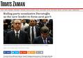 Paralel medya Davutoğlu'nu hazmedemedi