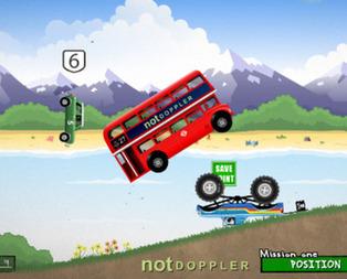 Turbolu Araba Yarışı